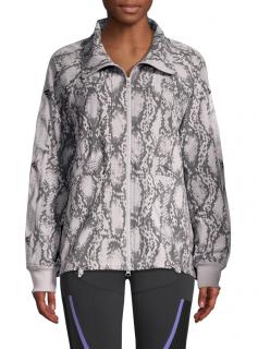 Adidas by Stella McCartney Performance Snake-Print Jacket