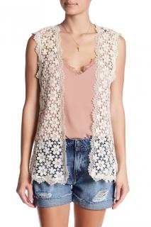 The Couples lace gilet