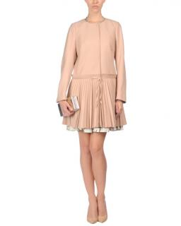 Red Valentino Pale Pink dress coat