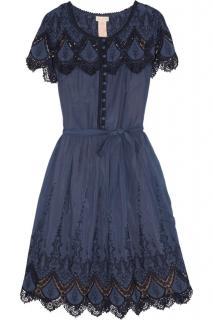 Collette Dinnigan Navy Ibiza dress