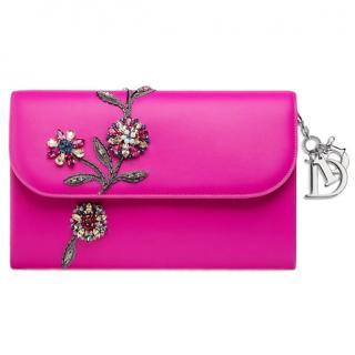 Dior Pink Dior Jaune Vif Clutch