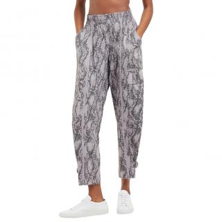 Adidas by Stella McCartney Performance snakeskin-print track pants