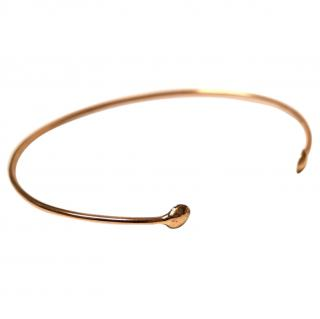 Dezso yellow-gold bangle