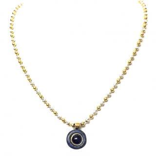 Bespoke Sapphire-pendant necklace