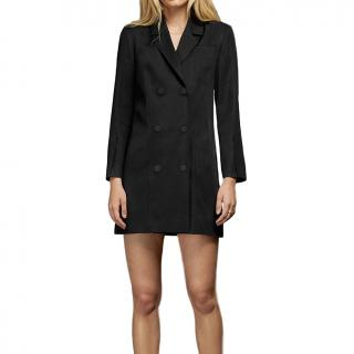 Anine Bing Francoise Double-Breasted Blazer Dress