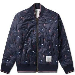 Thom Browne Skier Embroidered Bomber Jacket