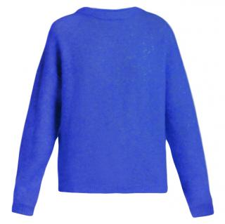 Acne Studios Royal Blue Mohair Jumper