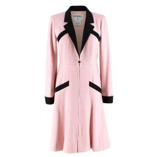 Chanel Milkshake Pink Silk Tweed Coat