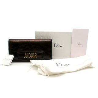 Dior Black J'adior Croisiere Wallet on Chain