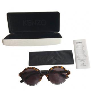 Kenzo round-frame acetate sunglasses
