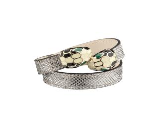 Bvlgari Serpenti Forever metallic bracelet