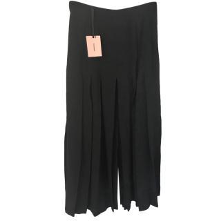Vilshenko Black Pleated Skirt