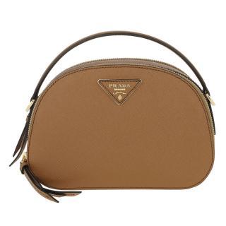 Prada Saffiano Leather Odette Shoulder Bag