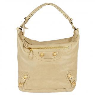 Balenciaga Classic Beige Sahara Day Bag