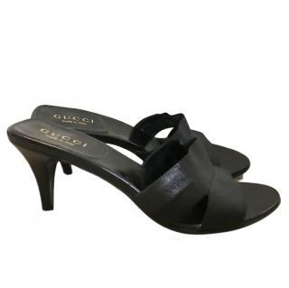 Gucci Black Mules