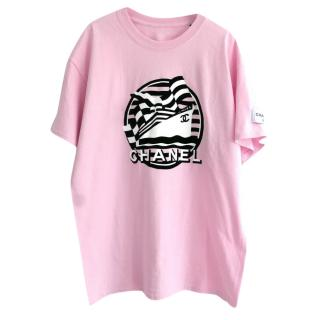 Chanel Cruise Collection VIP pink T-shirt