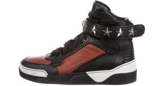 Givenchy Tyson two-tone high-top trainers