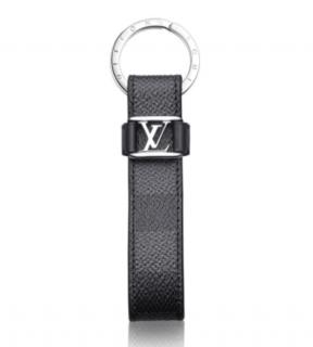 Louis Vuitton Damier Ebene Dragonne Key Holder