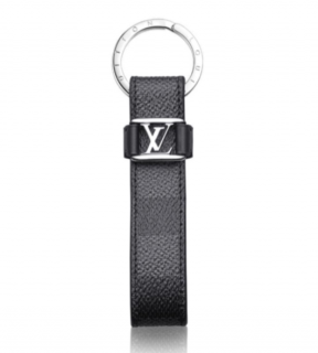 Louis Vuitton Damier Ebene Dragonne Key Holder