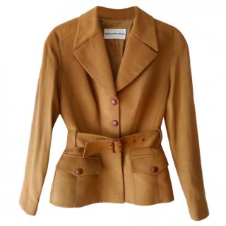 Thierry Mugler Vintage Camel Jacket