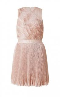 Carven Pale Pink Organza Dress