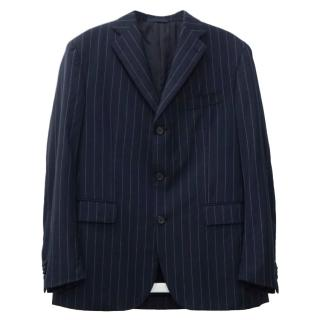 Boggi Zelander Dream Wool Navy Blazer