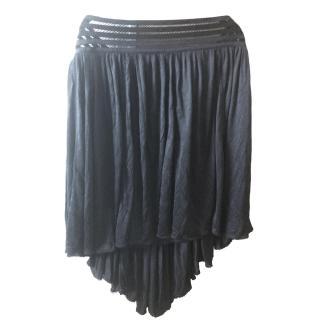 Louis Vuitton Black Draped Skirt