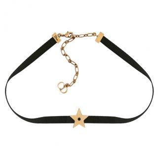 Christian Dior D'Porte-Bonheur Star Choker Necklace