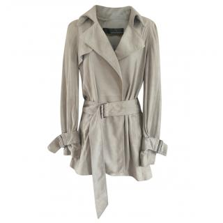 Amanda Wakeley Soft Leather Trench Coat