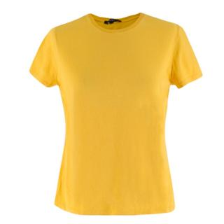 Gucci Yellow Cotton-Jersey T-Shirt