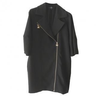 Elizabetta Franchi Asymmetric Zip Front Dress