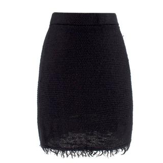 Isabel Marant Black Knit Mini Skirt