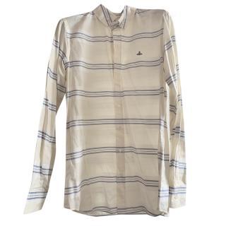 Vivienne Westwood Cream Striped Shirt