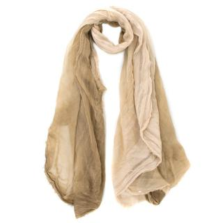 Bottega Veneta Cashmere Gradient Oversized Wrap Shawl