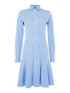 Ralph Lauren Polo Alexis Shirt Dress in Blue