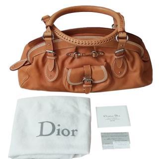 Dior Tan Top Handle Bag