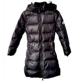 Moncler Girls Black Puffer Coat