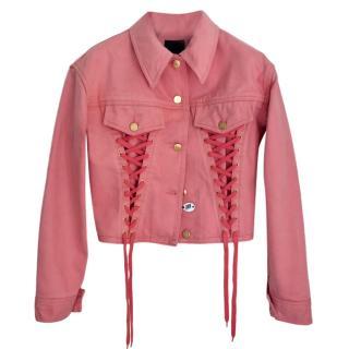 Jean Paul Gaultier Pink Vintage Denim Jacket