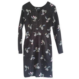 Preen floral-print dress