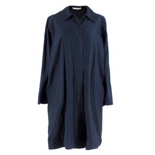 Bamford England Navy Silk Blend Lightweight Jacket