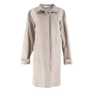 Bamford Beige Cotton-blend Lightweight Coat