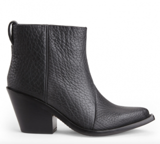 Acne Studios Black Donna Western Boots