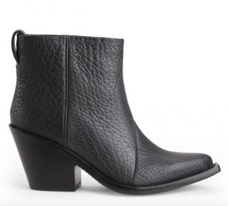Acne Studios Black Donna Western Boots