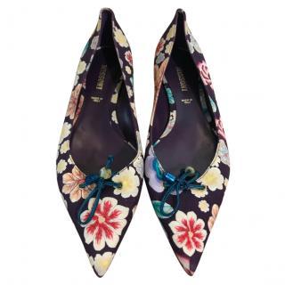 Missoni Floral Ballet Flats