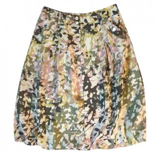 Weekend Max Mara camouflage print a-line Skirt
