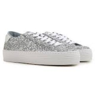 Chiara Ferragni glitter low-top trainers