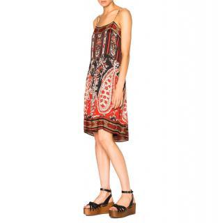 Isabel Marant Etoile Trani Paisley Print Dress