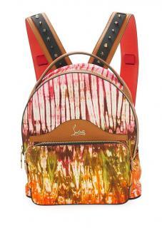 Christian Louboutin Blackloubi small canvas backpack