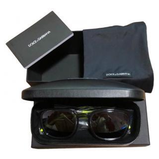 Dolce & Gabbana Men's Grey & Fluo Sunglasses