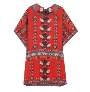 Isabel Marant Sully printed modal mini dress